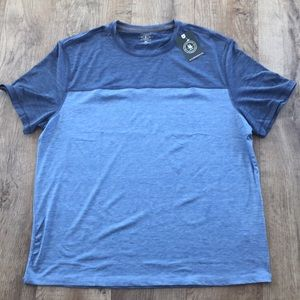 G.H. BASS & CO. two toned blue shirt. Brand new!